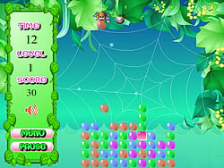 Spider Bubble game