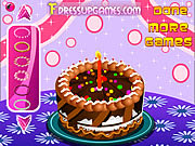 Play Birthday cake decor Game