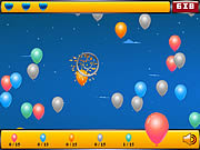 Crazy Balloon Shooter game