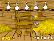 Play Binki on the chicken farm Game