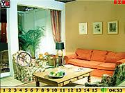 Hidden Numbers Living Room game