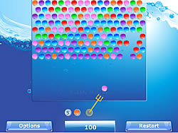 Bubble Matcher game