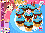 Play Kawaii cupcakes Game