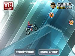 Spiderman Ice Bike game