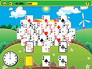Play Frantic farm solitaire Game