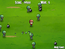 Kid N Zombies game
