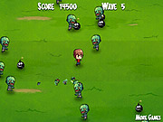 Kid N Zombies game