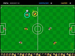 Pocket Soccer game