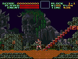 Super Castlevania IV(1991) game
