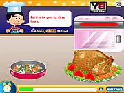 Play Thanksgiving turkey cooking Game