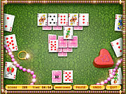 Play Queens wedding solitaire Game
