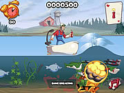 Super Dynamite Fishing game