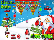 Play Christmas bubbles game Game