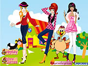 Play Posy teens-celebrate thanksgiving day Game