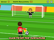 Play Free kick Game
