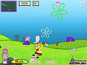 Play Spongebob jelly fish Game