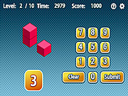 Play Count the cubes Game