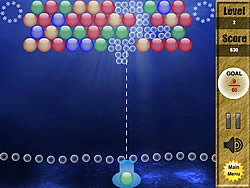 Seabed Bubble game