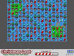 Christmas Loot game