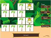 Play Safari matching game Game