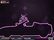 Play Neon extreme stunts Game