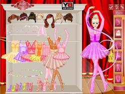Miss Ballerina Dress Up game