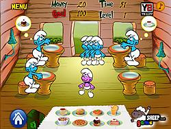 Smurf Dinner game
