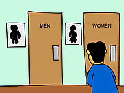 Watch free cartoon A Mens Room Monologue
