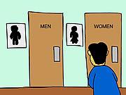 Watch free cartoon A Mens Room Monologue