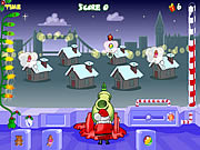 Play Santa s cannon Game