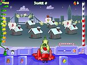 Santa's Cannon game