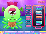 Create a Monster game