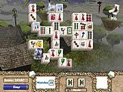 Aerial Mahjong game