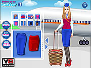 Glamorous Air Hostess game