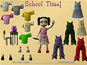 School Time Dress Up game