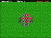 Play Red flowers Game