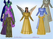 Angel Dress Up game