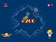 Play Johnny catch and the snow flakes Game