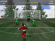 Santa's Footy Challenge game