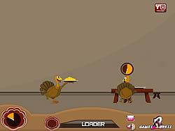 Funny Turkey Serves game
