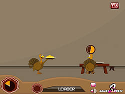 Funny Turkey Serves game