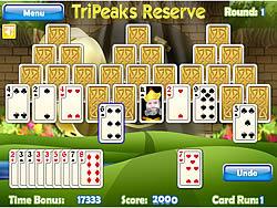 Tripeaks Reserve game
