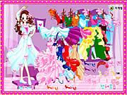Play Dancing girl dress up Game