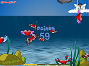 Play Cupid catching fish Game