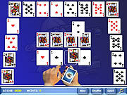 Play Crescent solitaire Game