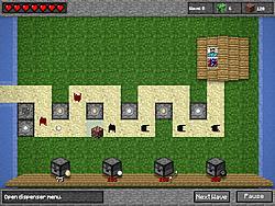 Jogar jogo grátis Minecraft Tower Defense