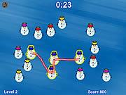 Snowman Match game