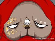 Vea dibujos animados gratis Mashimaro Rabbit Episode 7: Godzilla Bugaloo