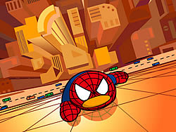 Watch free cartoon QQ Penguin: Spiderman