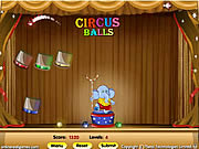 Juega al juego gratis Circus Balls